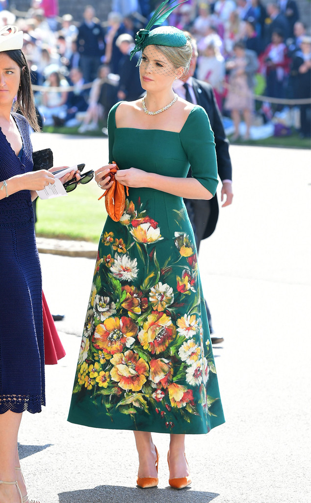 Lady Kitty Spencer, Royal Wedding Arrivals